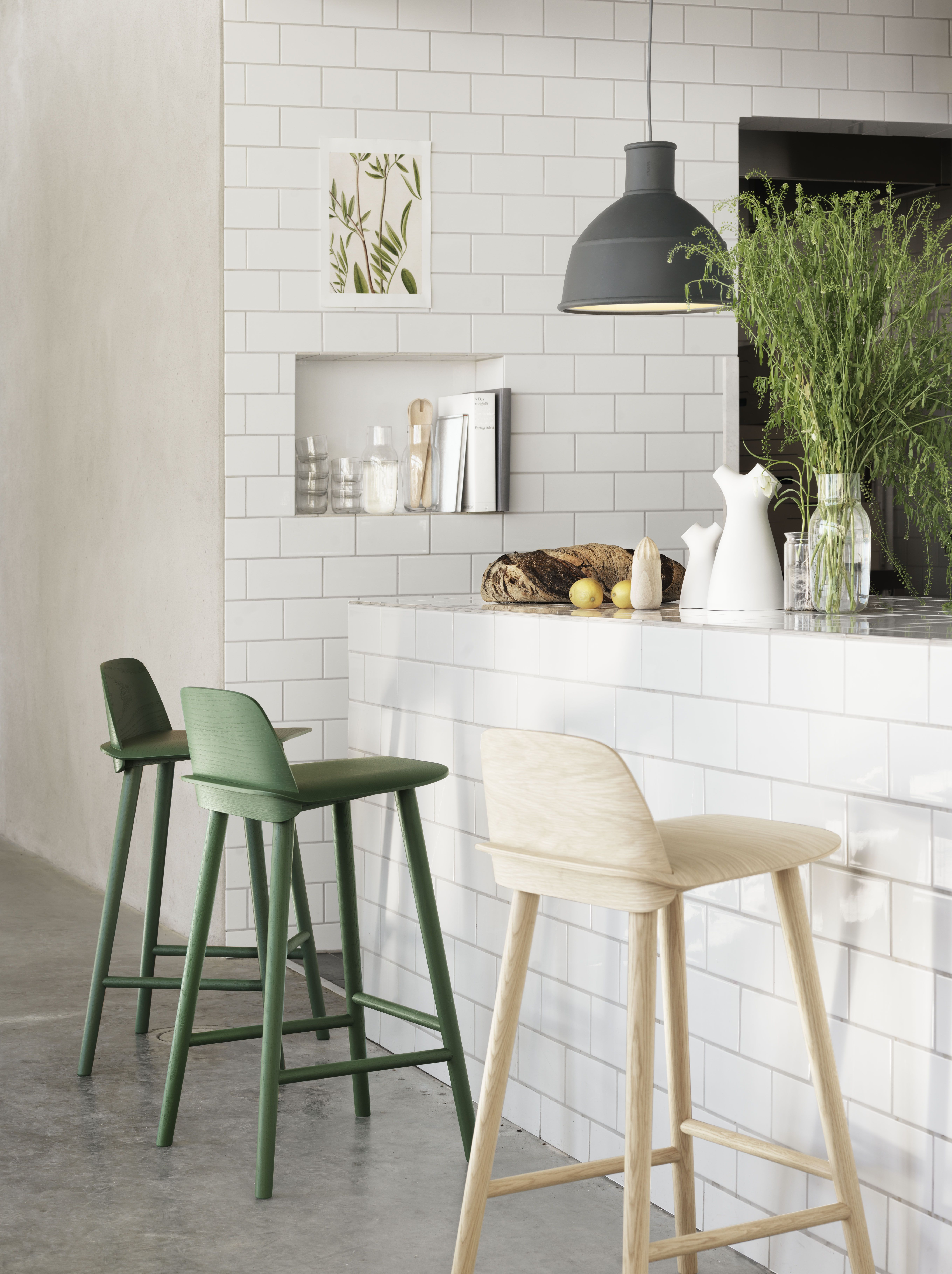 muuto le design scandinave moderne cuisine moderne chaise bar tabouret de bar