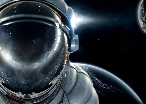 In Space | Astronaut | Astronaut wallpaper, Outer space