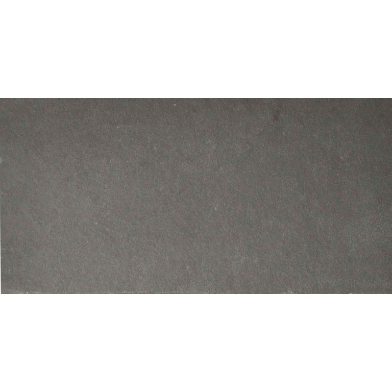 The Bella Collection Pewter 6 X 12 Slate Field Tile In Gray Wayfair