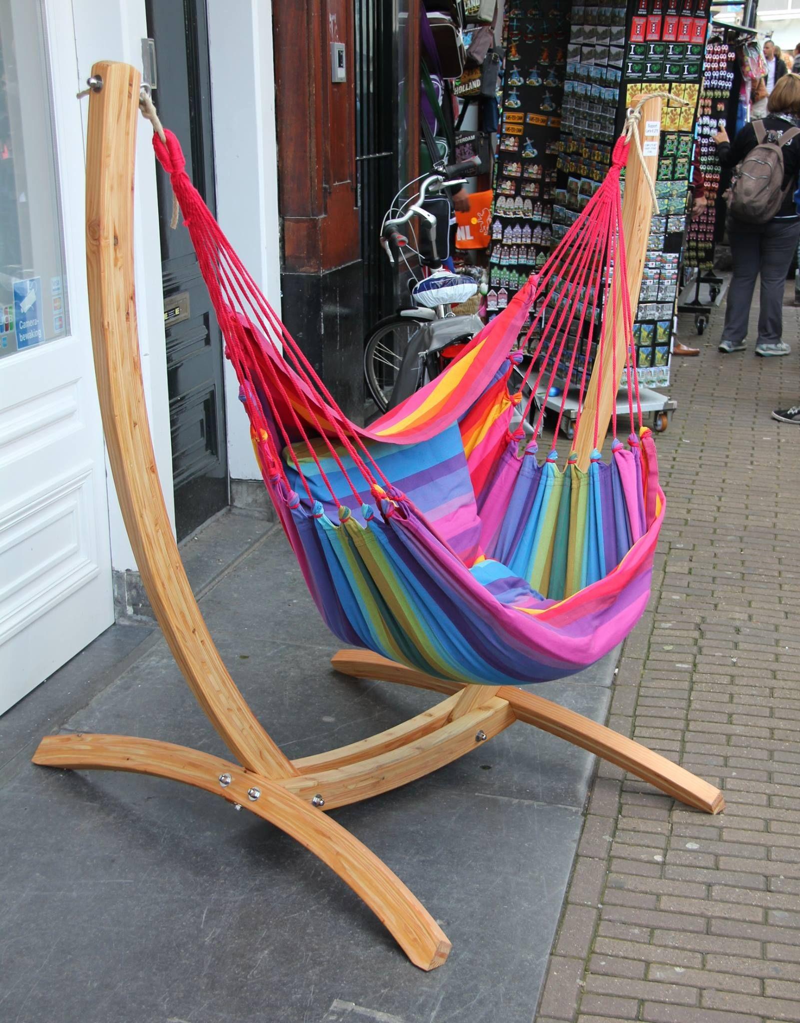 Hangmat Stoel Met Standaard.Hangstoel Standaard Houten Arc Hangmat Expert Sinds 1981