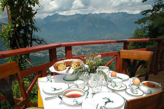 Castel Fragsburg Merano, Dolomites, Italy Luxury Hotel