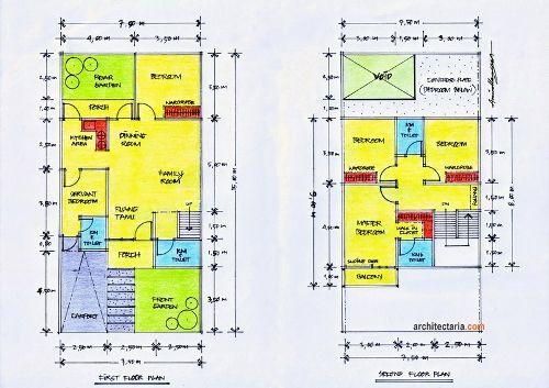 6200 Gambar Rumah Minimalis 2 Lantai Type 90 Terbaru