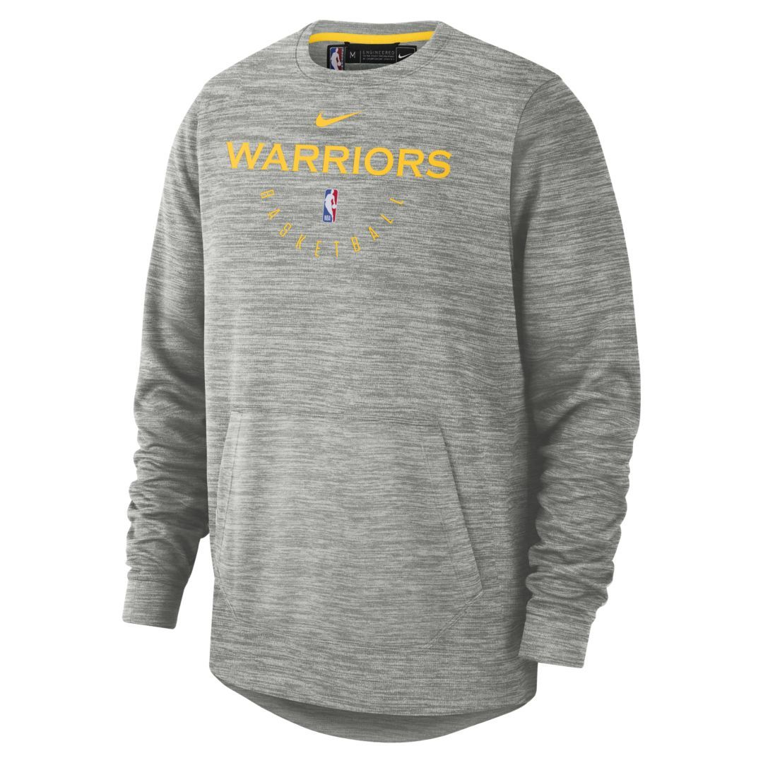 a9a740c3 Golden State Warriors Nike Spotlight Men's NBA Crew Size M (Carbon Heather)