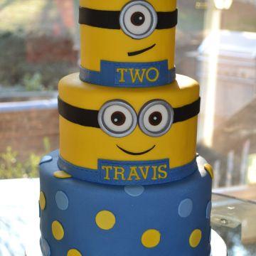 Minion Cake III Minion Cakes Pinterest Minion cakes Cake and