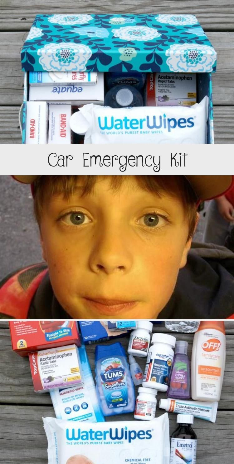 Emergency Kit Kit Hand Sanitizer Car