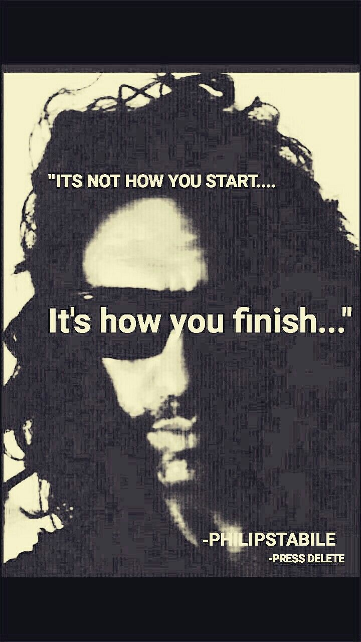 Its Not What You Start In Life Its What You Finish Picture Quotes