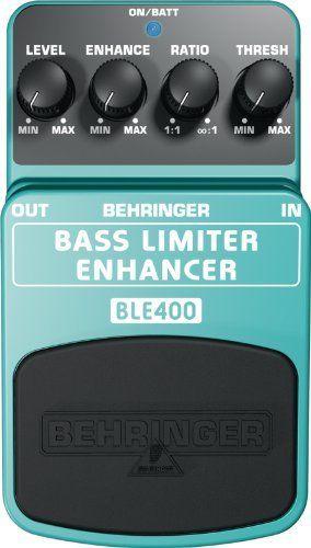 Behringer BLE400 Bass Limiter Enhancer Ultimate Dynamics Effects Pedal by Behringer. $24.99