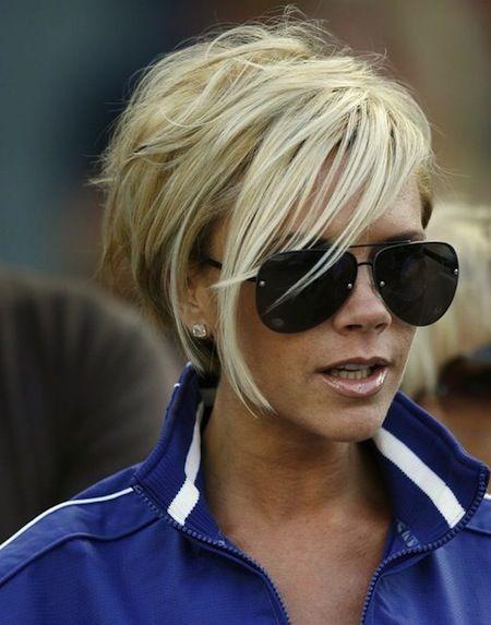 Image: Victoria Beckham Hair Styles – Stunning Short Celebrity Hairdos ...