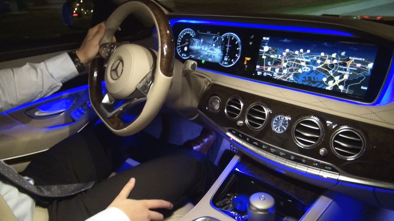 2017 Mercedes S Cl Night Vision Test Review View Ist Plus S350 A