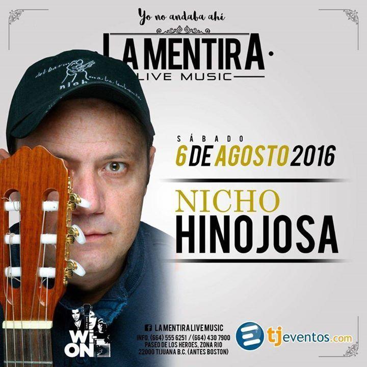 HOY a las 9 pm REGALAREMOS boletos para el concierto de Nicho Hinojosa!  Quiénes quieren ir?