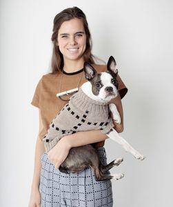 Grid Dog Sweater $59 | Dusen Dusen