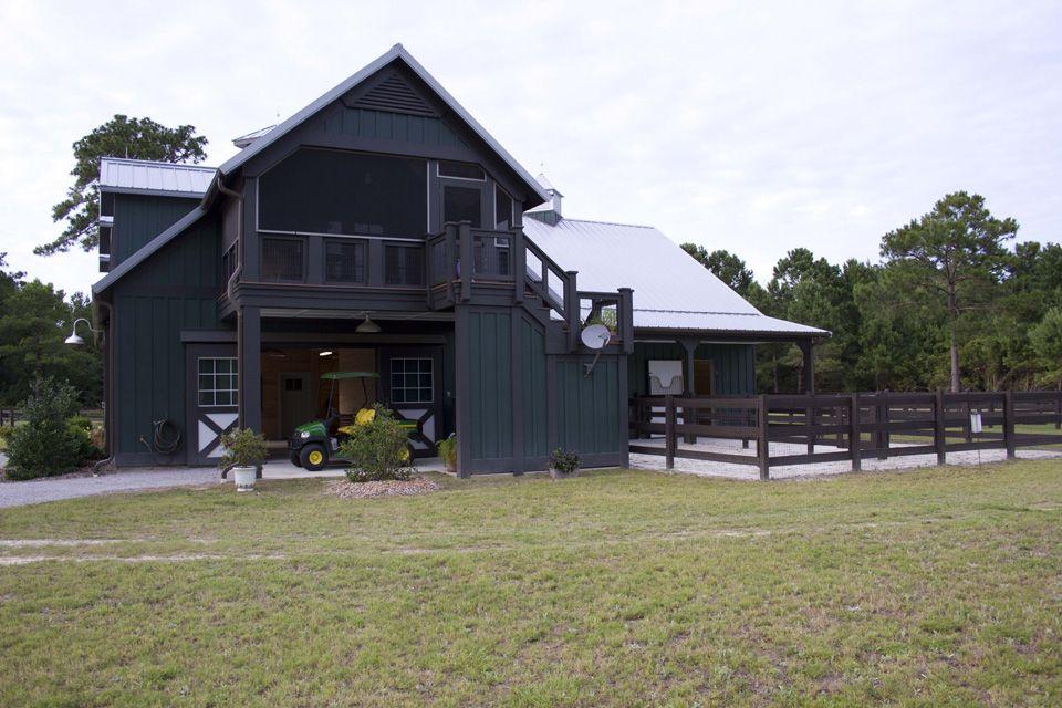Morton Buildings horse barn in South Carolina