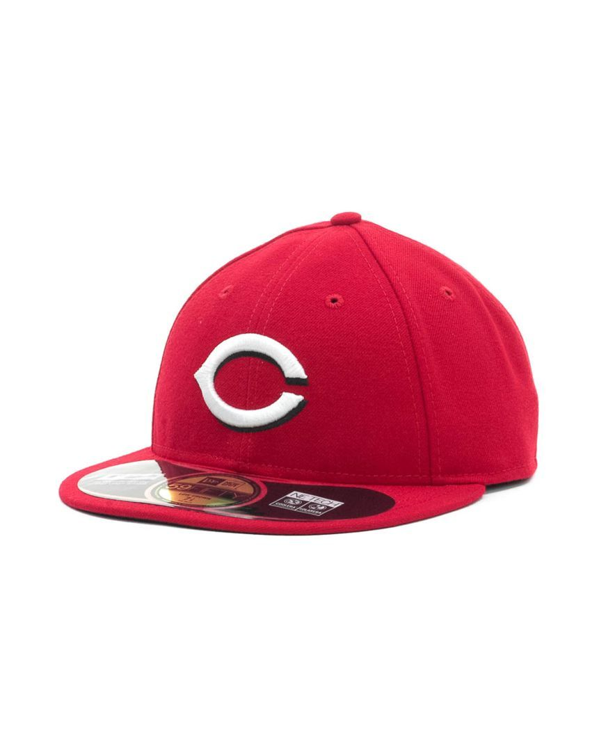 New Era Cincinnati Reds Low Crown Ac Performance 59FIFTY Cap