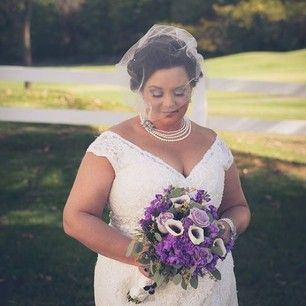 This Bride Who Proved That Pearls Aren T Just For Your