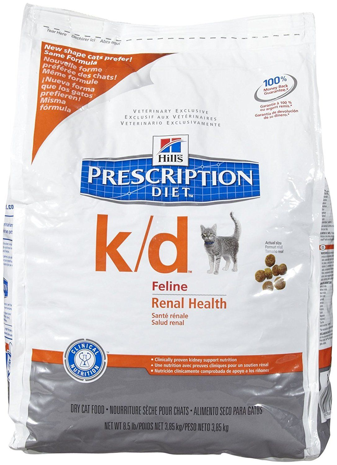 Hill S Prescription T K D Feline Renal Health 8 5lb Awesome