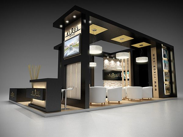 Exhibition Booth Proposal : Design proposal for rixos hotel sharm el sheikh wtm