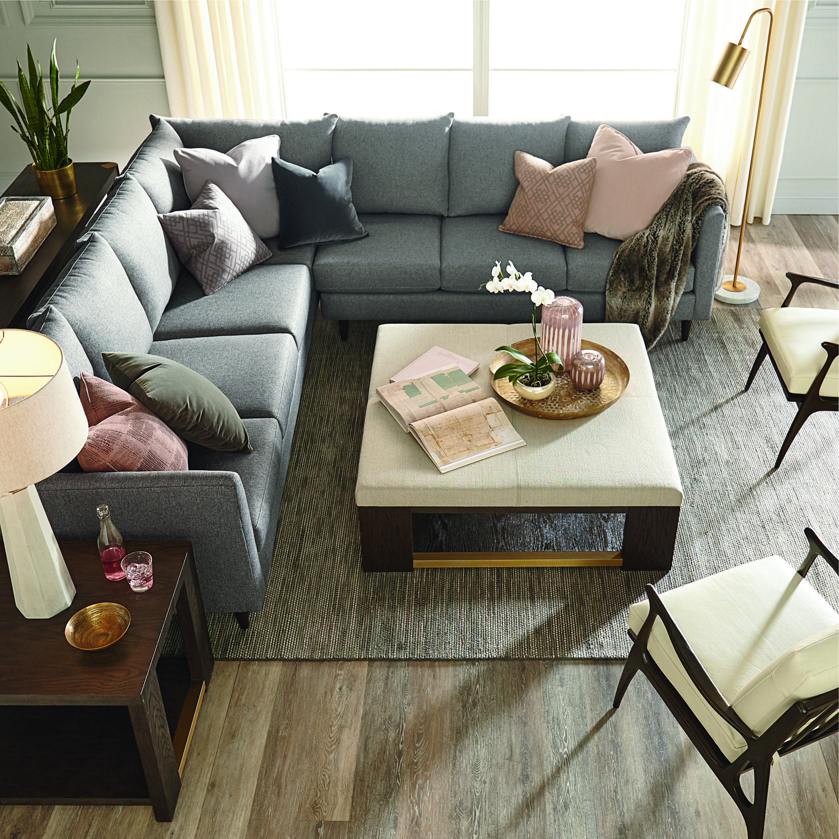 The Best Coffee Table Decorating Ideas Furniture Store Design Living Room Seating L Shaped Couch