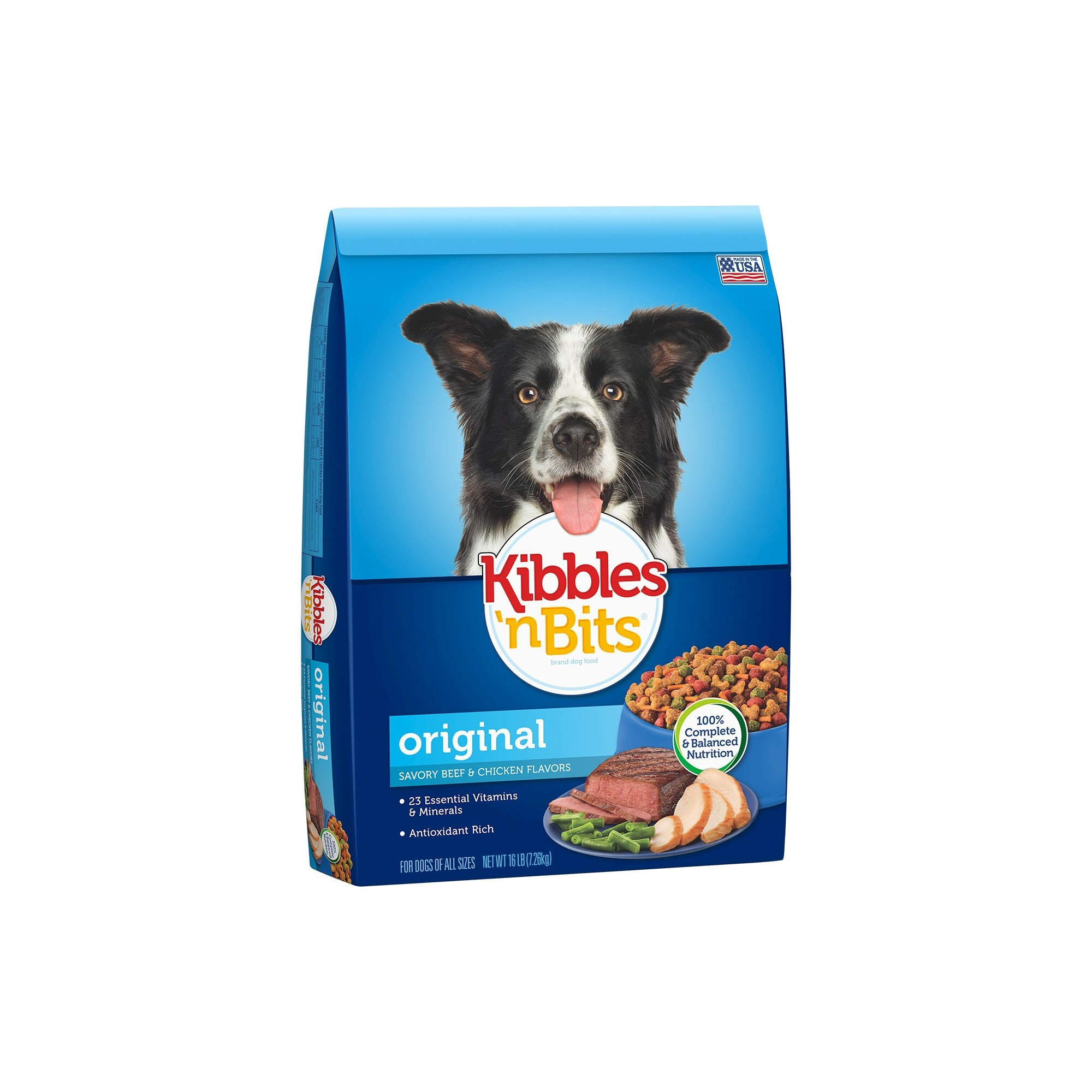 Kibbles N Bits Bistro Meals Oven Roasted Beef Dry Dog Food