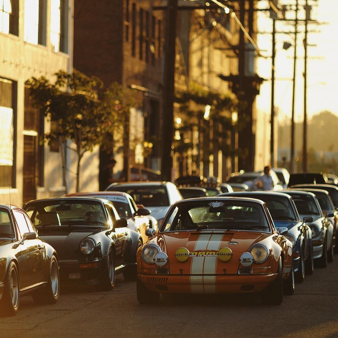 Porsche parking only #roadtorennsport #porsche #losangeles   Photo by @larry_chen_foto by thespeedhunters