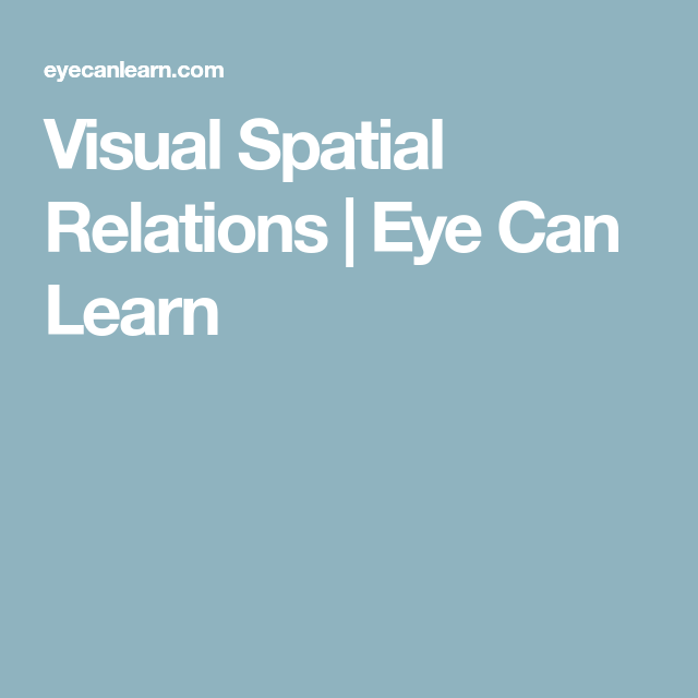 Spatial Visualization Techniques