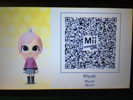 Image result for Tomodachi 3ds qr codes sailor moon