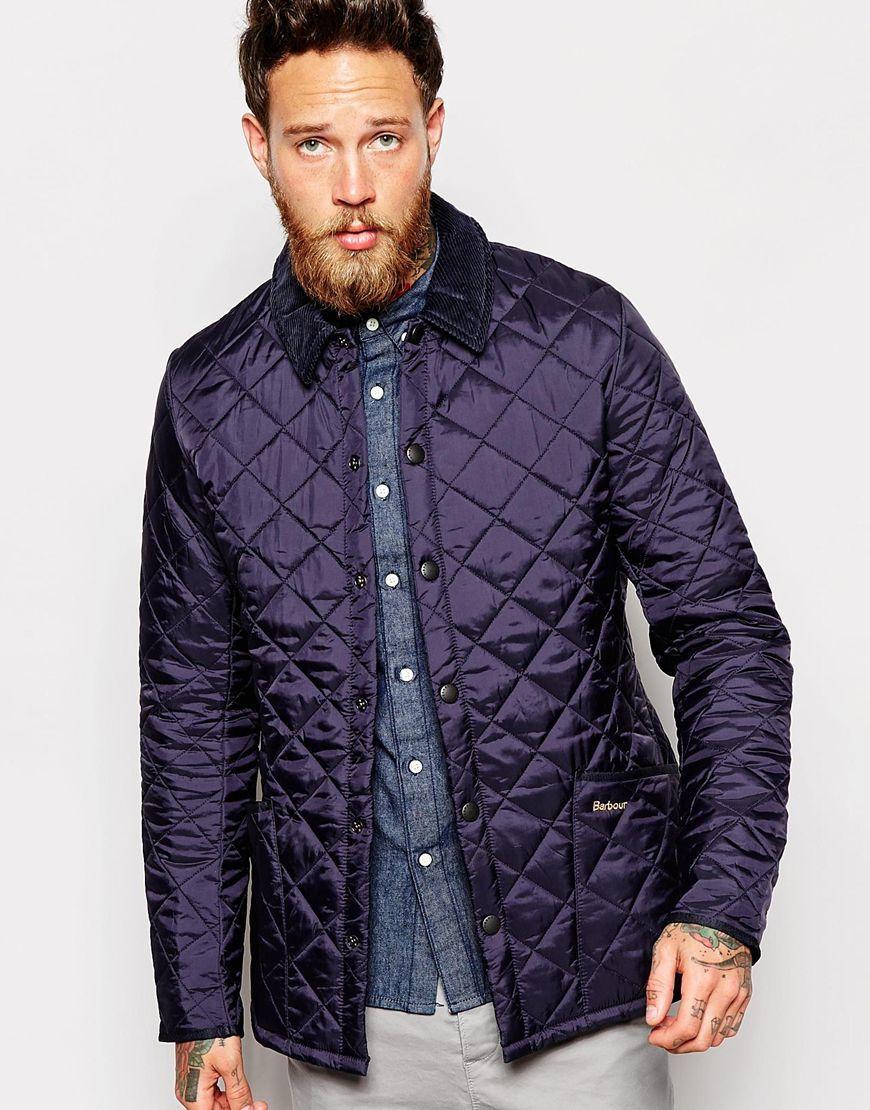 Barbour Liddesdale Quilted Jacket Slim Fit Rima For Men