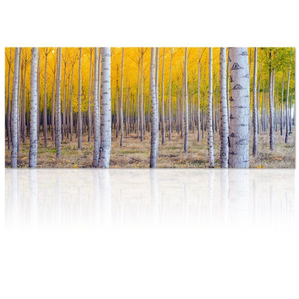 e7e87505cb8 Large Size Autumn Forest Canvas Wall Art Prints
