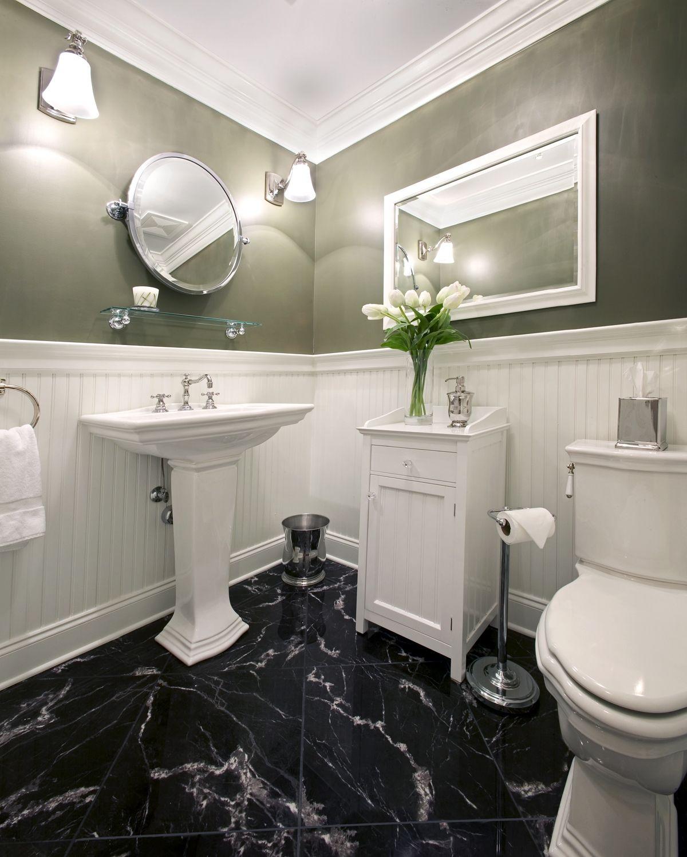 White Modern Bathroom With Black Marble Tile Floor Modern Bathroom Pertaining To Dimensions White Marble Bathrooms Black Marble Bathroom Marble Bathroom Floor