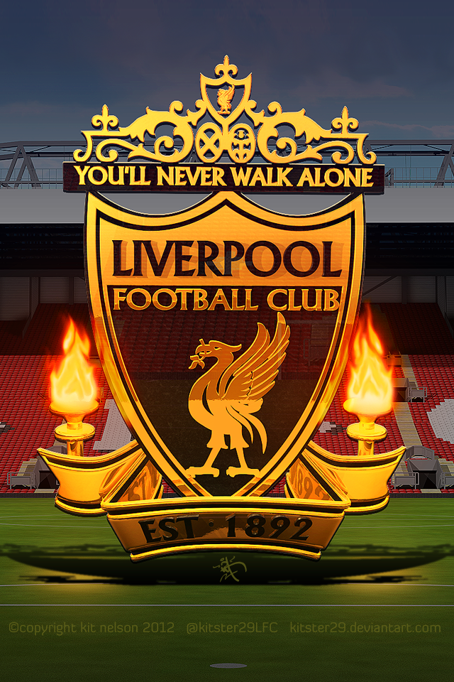The Kop The Epic Picture Mobile Kitster29 By Kitster29 On Deviantart Liverpool Football Liverpool Football Club Liverpool