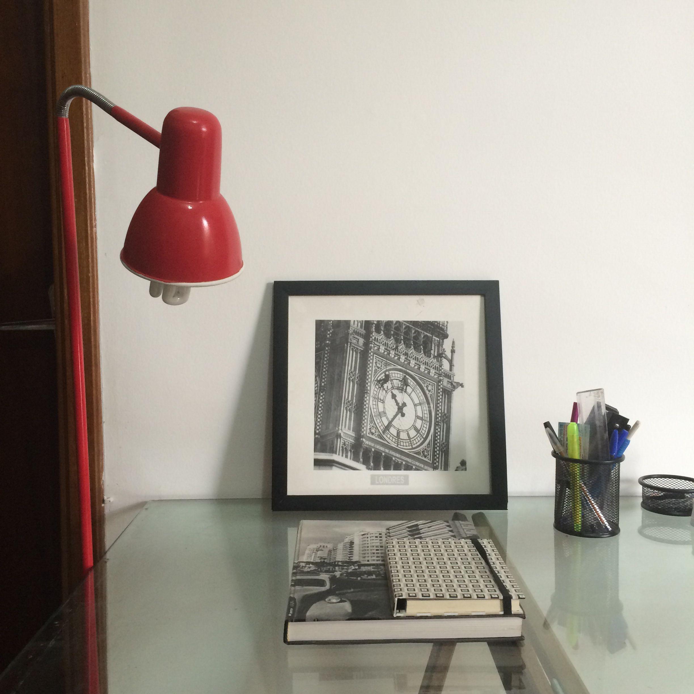 Lina arquitetura criando idéias e espaços decoração design - escritório - luminárias vermelha