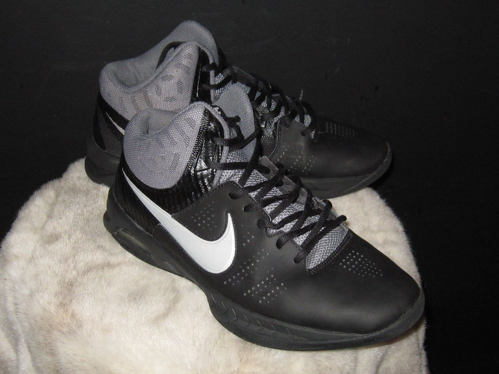 best service caa49 84e33 Mens NIKE AIR VISI PRO 6 High Basketball Sneakers Sz 9 Black Gray  749167-001  Nike  BasketballShoes  gentlyused  gifts