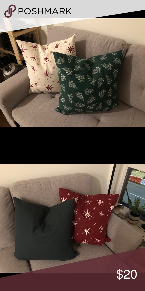 4 Holiday Pillow Covers 20x20 | 20x20