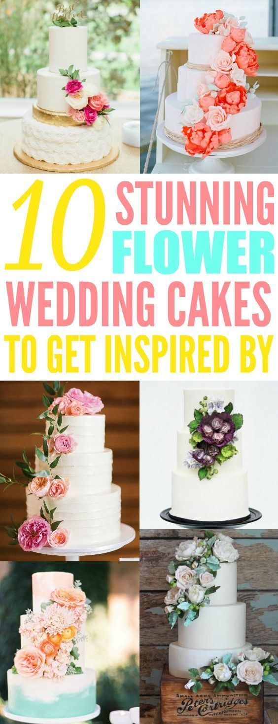 stunning floral cakes inspiration for the spring weddings