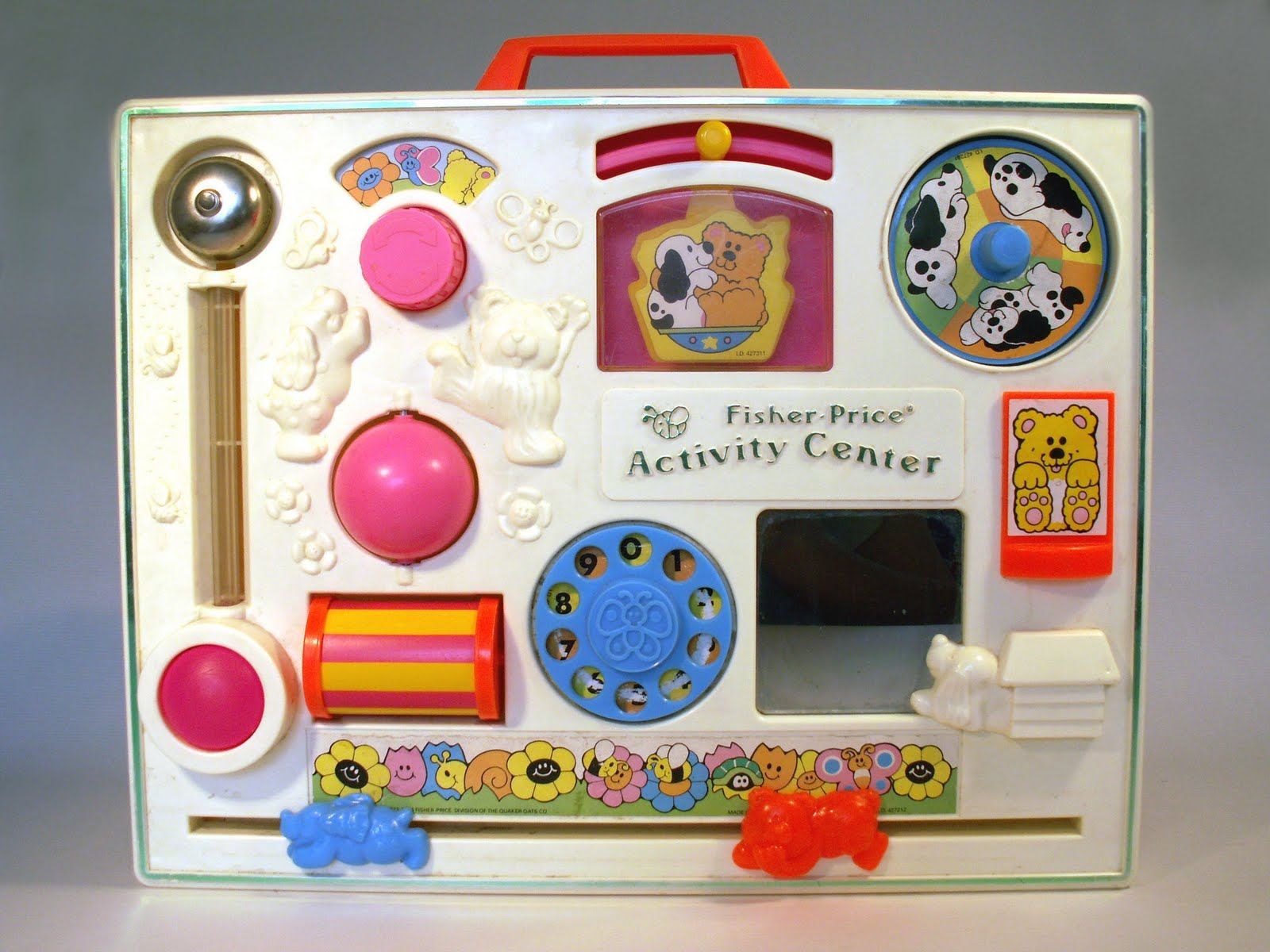 Fisher Price Activity Center Vintage Baby Toys Fisher