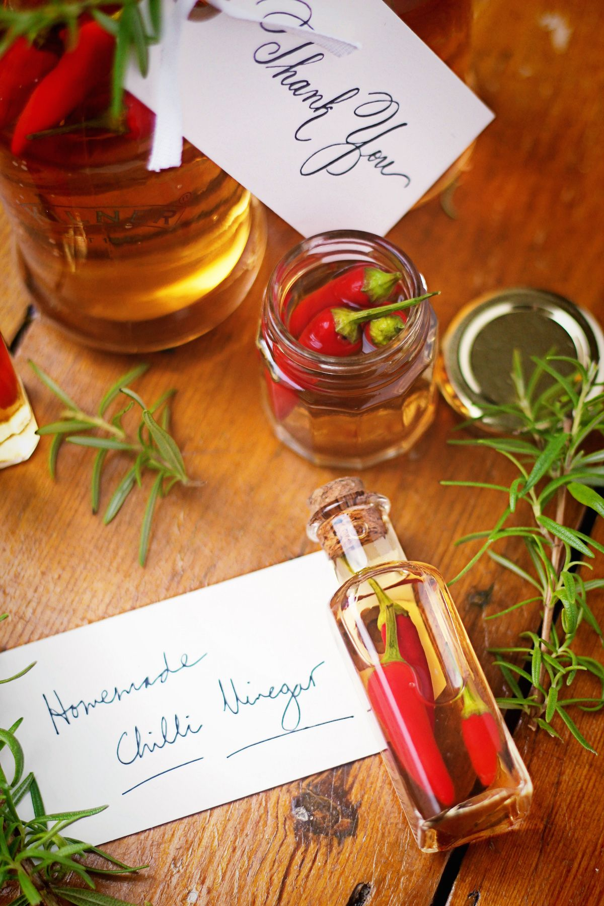 Hostess Gifts Ideas For Dinner Party Part - 44: This Homemade Chilli Vinegar Is The Perfect Hostess Gift To Bring To A  Summer Dinner Party Or BBQ.