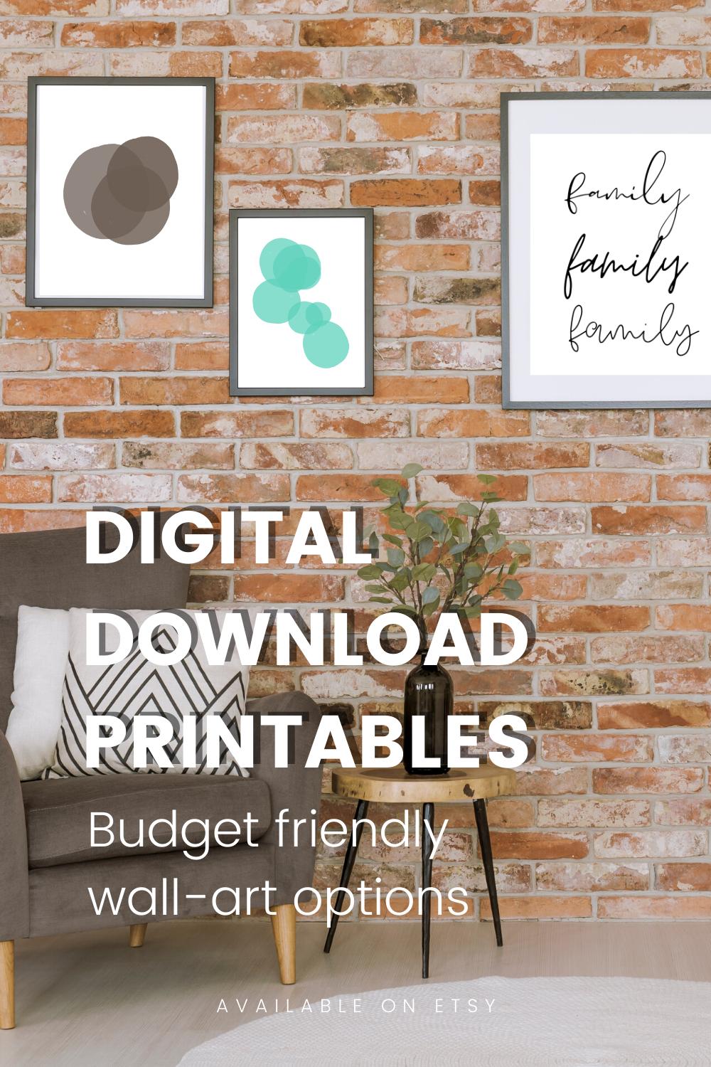 Budget friendly wall-art: Digital downloads to spice up your space  #homedecor #livingroomideas #OfficeDecor #artwork