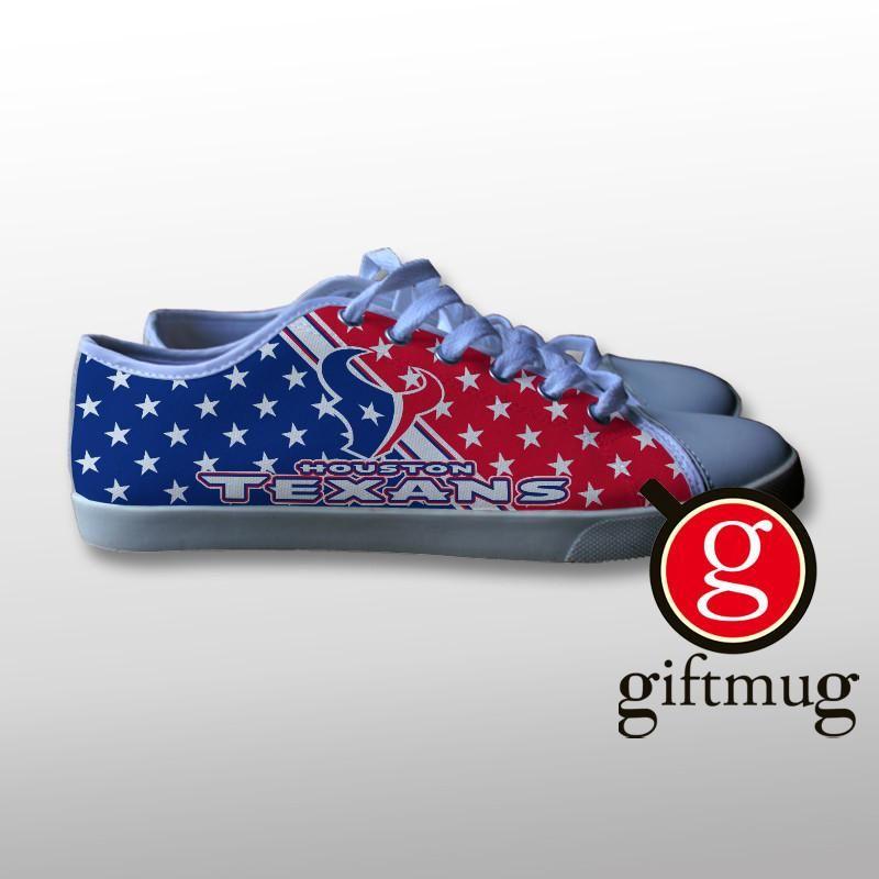 houton texans canvas shoes shoes houton texans canvas gift