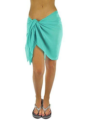 432b0eb1c977d Luxury Divas Womens Short Sarong Wrap Cover Up | Get Cheap Deals ...