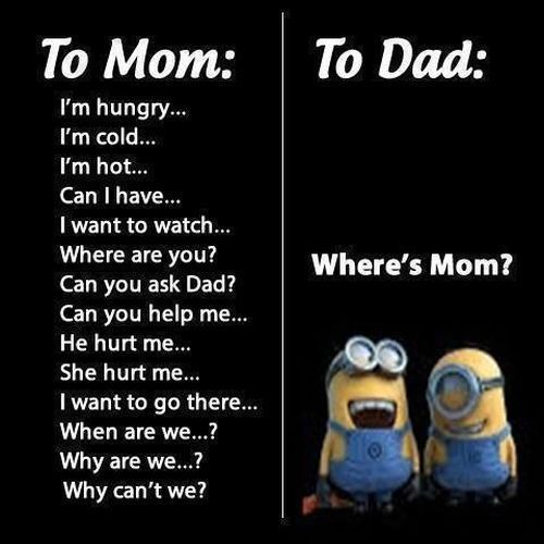 Where S Mom Funny Quotes Cute Mom Mothers Day Minions Clever Happy Mothers Day Mothers Day Quotes Funny Quotes Funny Minion Quotes Fun Quotes Funny