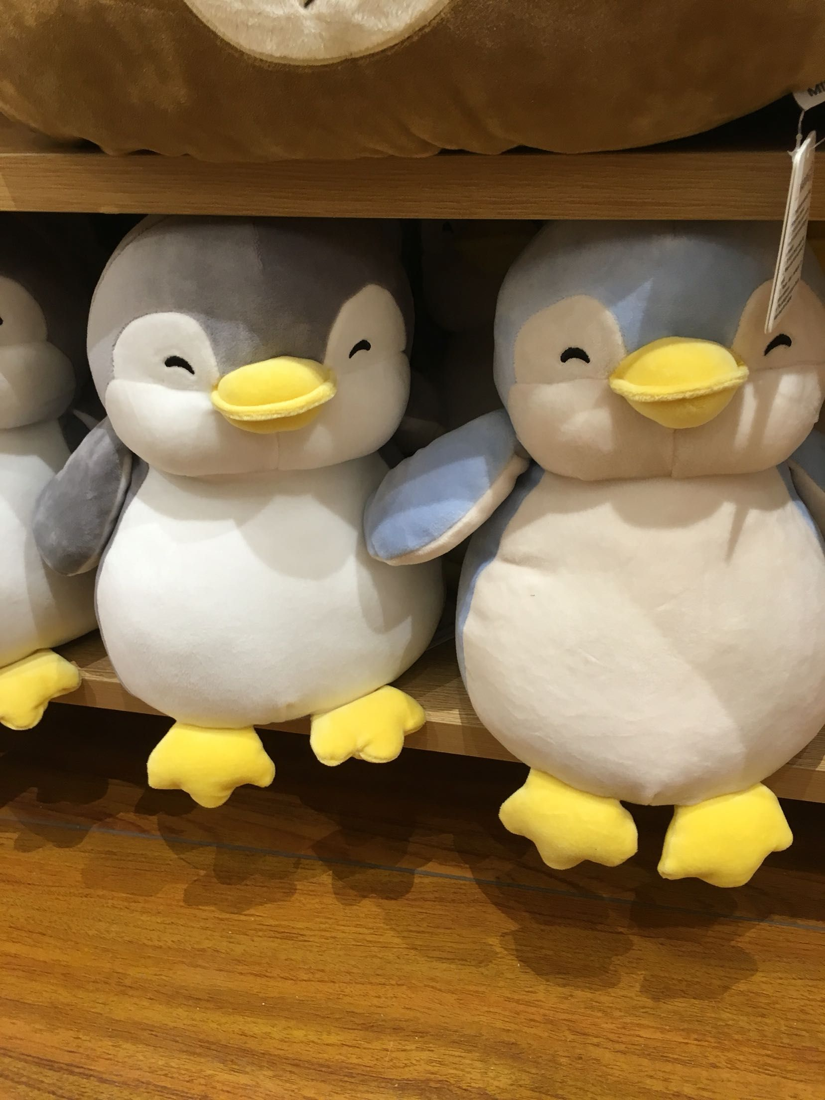 New Genuine Excellence Miniso Purchasing Cute Penguin Plush Doll 8