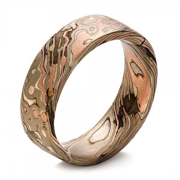Mens Wedding Bands Rose Gold Mens Gold Wedding Bands Engraved