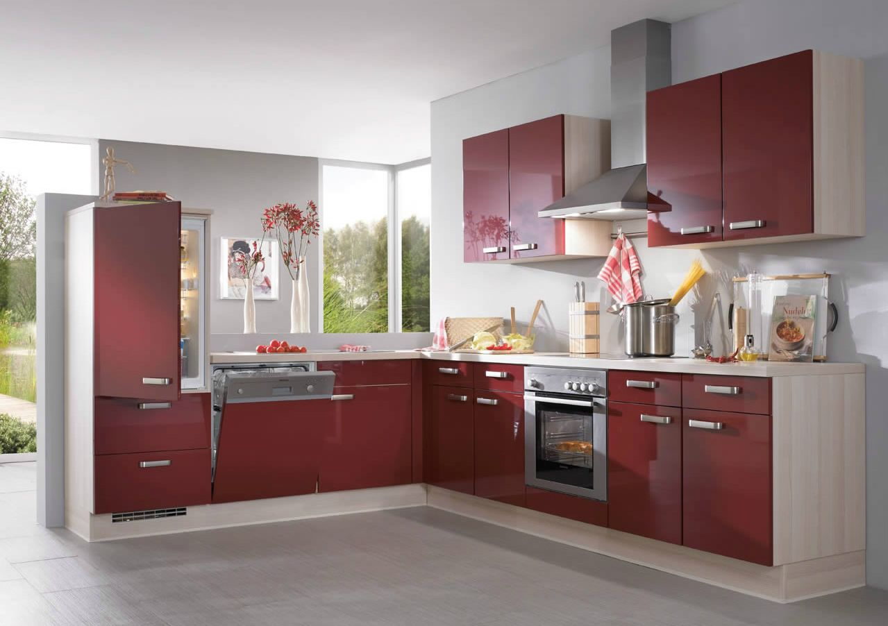 A beautiful rich colour and great design. Evoke German Kitchens in ...