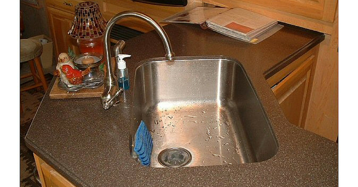 Rv Sink Rv Shower Faucets Read This Before Buying Rvshare Com Rv Sink Rv Camping Checklist Rv Kitchen