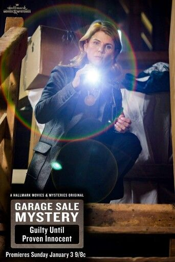 Gsm Guilty Until Proven Innocent Garage Sale Mystery Hallmark Movies Mystery Books
