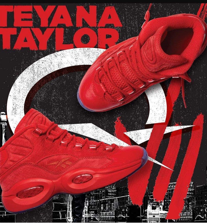2df24e155b5f Teyana Taylor X Reebok Question for the Ladies