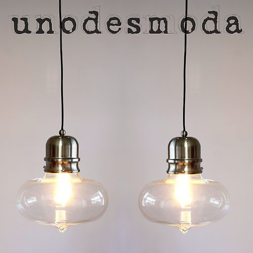 2 X Modern Ceiling Funky Pendant Lights Lamps
