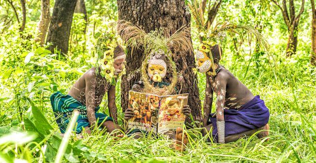 ファッショナブルな少数民族を撮るヨシダナギ