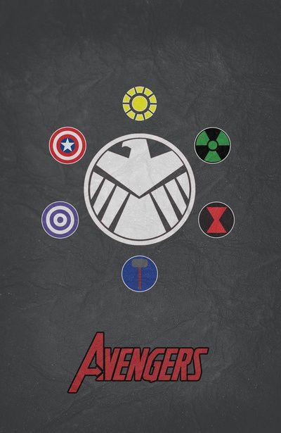 Super Hero Symbols Vinyl Car Decal Dsg T Avengers