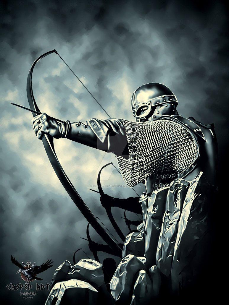 Viking Archers By Thecasperartdeviantartcom On At Deviantart Pagan