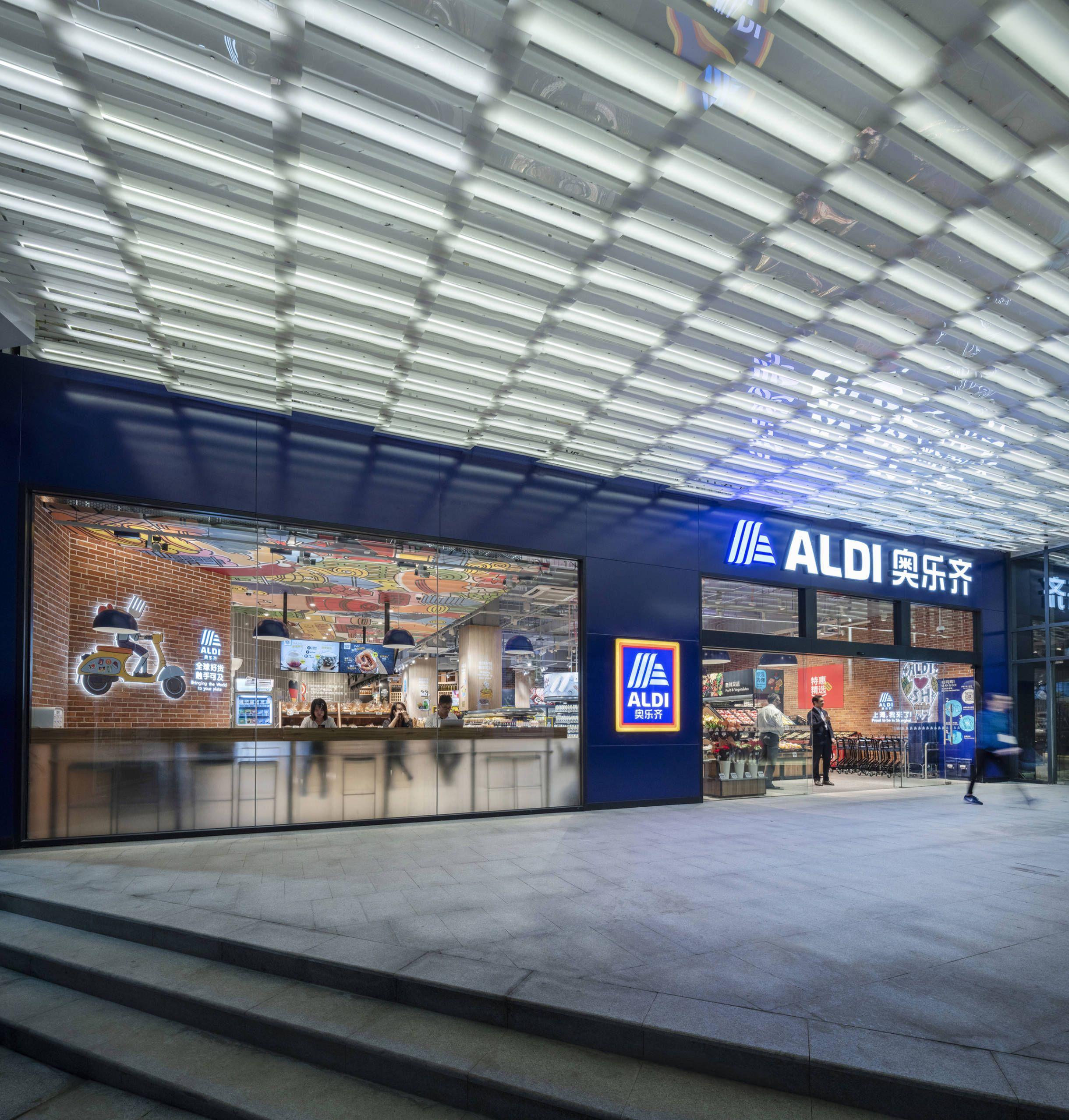 Landini Associates Aldi China Supermarket Design Aldi Work In Australia